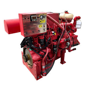 Diesel Fire Pump Engine John Deere Powertech Model 6068hfc48a 6 8l 2012 Tier 3