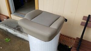 04 08 Ford F 150 Passenger Front Seat Bottom Bucket Captains Tan beige Cloth Oem