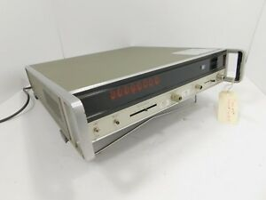 Hp 5340a Frequency Counter W Nixie Tube Display For Parts Sn 1532a03181