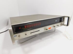 Hp 5340a Frequency Counter W Nixie Tube Display For Parts Sn 1724a04755