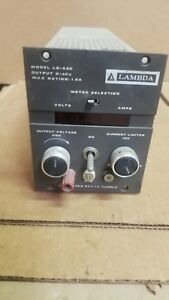 Lambda Lq 522 Dc Power Supply Good 0 40v 1 8a