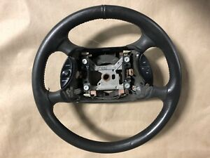 2003 2004 Ford Mustang Svt Cobra Steering Wheel Double Wrapped Genuine Leather
