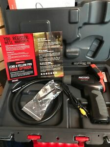 Ridgid 40043 With Case Micro Ca 25 Handheld Inspection Camera Kit Free Shipping