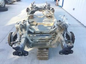 04 05 Lincoln Aviator 4 6l Complete Frame Chassis Suspension Axles Hot Rod