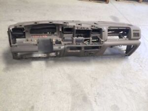 03 04 Ford F250 Super Duty Complete Interior Dash Assembly Brown As Shown Used