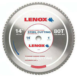 Metal cutting Circular Saw Blade 14 in X 80tpi