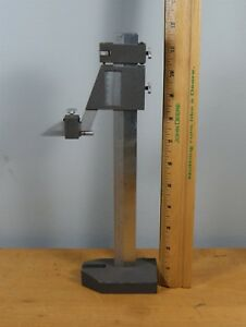 Vintage Brown Sharpe Model 587 Machinist s 8 In Height Gauge L 0352