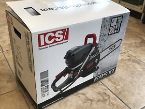 New Ics Concrete Pipe 16 Gas Chain Saw 695 Xl Sweden Free Ship