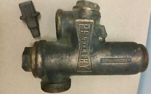 Antique Penberthy Injector Tractor Traction Engine Steam Locomotive