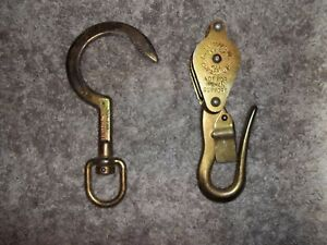 New Klein Tools 259 Swivel Anchor Hook And Klein Tools H268 Block