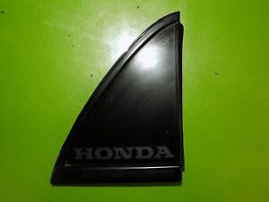 88 89 90 91 Crx Si Oem Rear Hatch Trunk Panel Emblem Driver Left Triangle