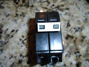 Cutler Hammer Ch2100 Double Pole 100 Amp Plug on Circuit Breaker New