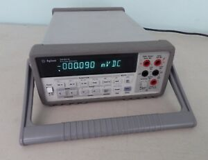 Agilent Digital Multimeter 34401a 6 Digit Hp Hewlett Packard Local Pickup Ca