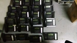 Lot Of 23 Toshiba Dp5022 sd 10 button 4 line Lcd Display Ip Phone Incomplete
