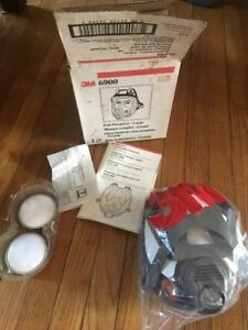 3m Brand New Mask Large Size Full Face Respirator 6900 Made And Ship From Usa