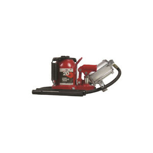 20 ton Low Profile Air Hydraulic Bottle Jack Aff Hydraulics
