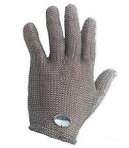 Wells Lamont Whizard Chain Stainless Steel Mesh Hand Glove Cut Resistant