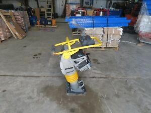Stanley Sra68 Jumping Jack Compactor 2016 Lightly Used