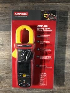 Amprobe Amp 310 Clamp Mter 600a 1 3 16incap With Thrmcpl