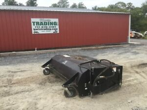 2009 John Deere Hb 84 Box Sweeper Attachment For Skid Steer Loaders