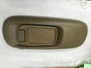 1995 1999 Gmc Suburban Chevy Truck Center Console Lid With Latch Tan