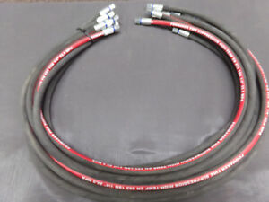 10 New 48 Fogmaker High Temp Fire Suppression Hose With 1 2 Inch Fittings