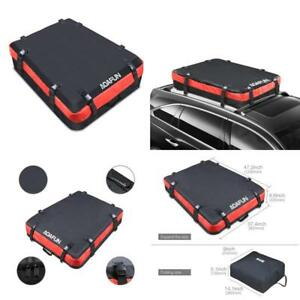 Waterproof Car Roof Box Storage Cargo Bag With Wide Strap For Travel Accessories