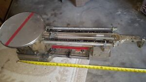 Vintage OHAUS Large Industrial Laboratory Heavy Duty BalanceScale 20kg 45 Lbs.