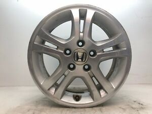 2006 2007 Honda Accord Ex 16x6 5 Aluminum Wheel Alloy 5 Double Spoke Rim Oem