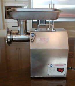 Thunderbird 1 Hp Meat Grinder Tb 12gs Used