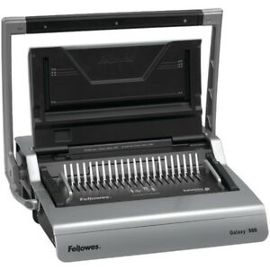 Fellowes r 5218201 Galaxy tm 500 Comb Binding Machine With Starter Kit