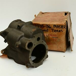 35 36 Chevy Standard 3 Speed Transmission Case 590695 Gm 601993 Nos