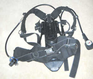 Drager Scba Draeger Pack Harness Evolution Airboss Pss 100