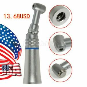 Seasky Slow Low Speed Dental E type Contra Angle Push Button Handpiece Usa Exc