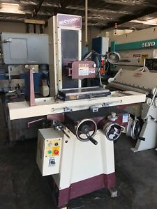 Chevalier 8 X 18 Accugrind Microfeed Surface Grinder