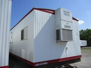Used 2007 1260 Mobile Office Trailer With Restroom Serial 0714921 Kc