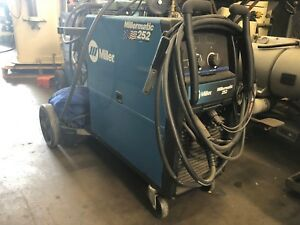 Miller Millermatic 252 Mig Welder With Spool Gun