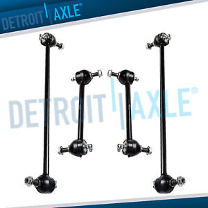4 New Front Rear Stabilizer Sway Bar End Links For Grand Prix Allure Lacrosse