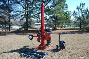 Well Drilling Rig Drill Equipment Driller Deep Rock Tool Boring Clean Water Pump