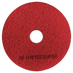 3m tm 5100 Buffer Floor Pads 17in Red Box Of 5