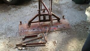 Farmall Cub Mccormick Tractor Blade Grader Leveling Front Snow Plow Implement