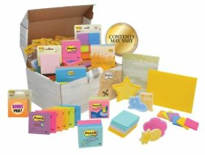 Post it Treasure Chest Of Notes Assorted Colors