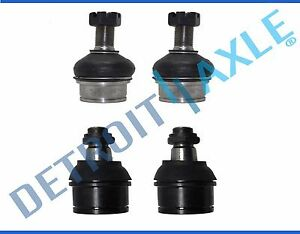 4pc Front Upper Amp Lower Ball Joint Set For Ford F 250 Amp F 350 4x4 4wd