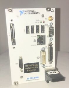 National Instruments Ni Pxi 8108 Embedded Controller Win 7 198410g 712l
