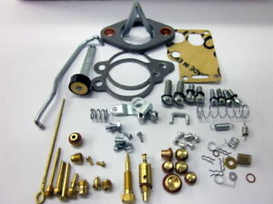 Mb Gpw Willys Ford Wwii Jeep G503 Cj2a Carter Wo Carburetor Master Rebuild Kit