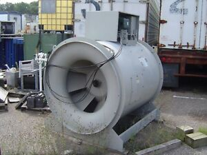 Industrial Greenheck o d Tube Axial Centrifugal Fan Blower 25 Hp 3 Phase