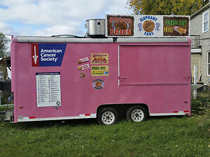 Concession Trailer And Stock Truck