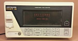 Criticare Poet Iq Anesthesia Gas Monitor 602 3a md02