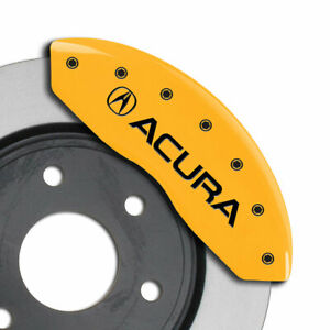 Mgp Caliper Covers Set Of 4 acura Engraving For 2015 2018 Acura Tlx yellow