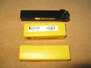 New Kennametal Indexable Lathe Tool Holder Mcrnl 165d Reduced Price